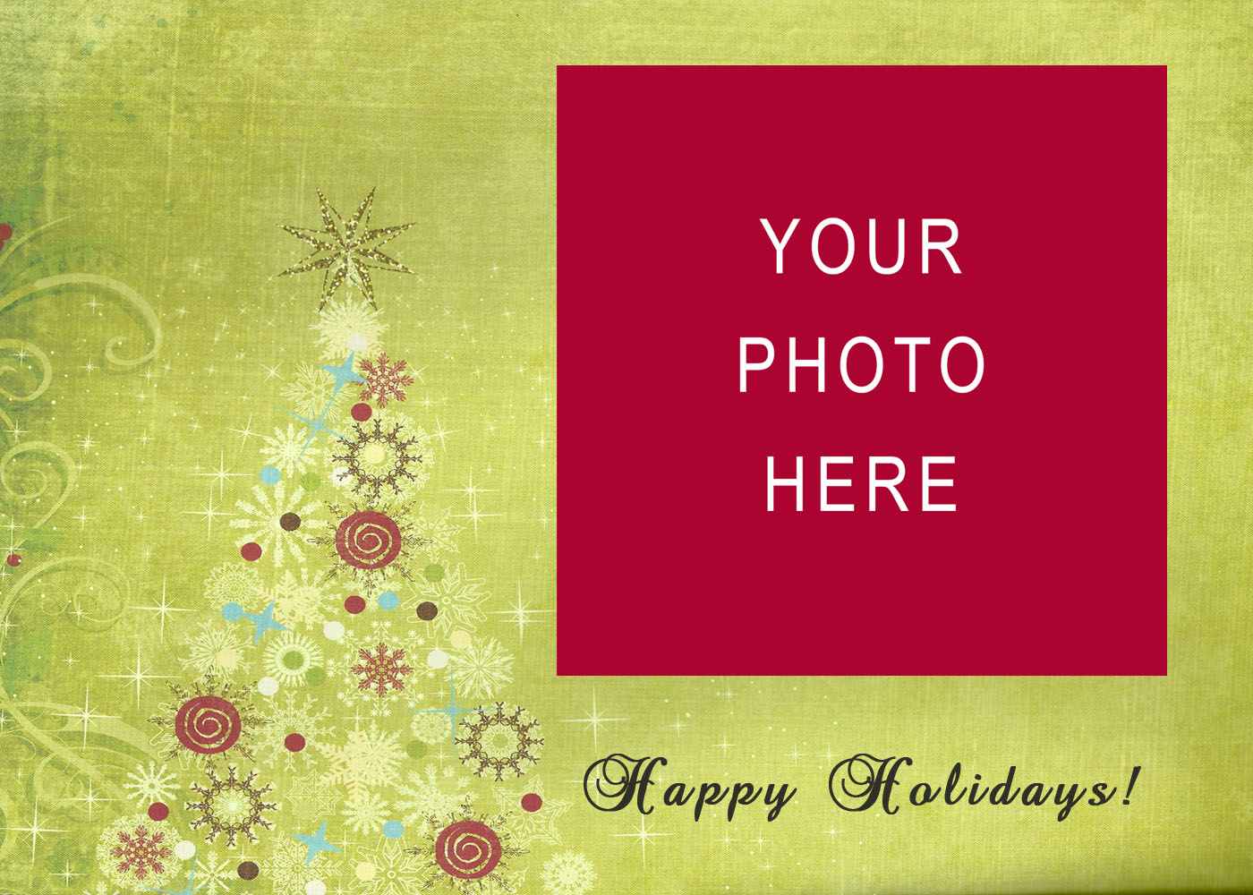Ourhandwriting – Christmas Cards Sample
